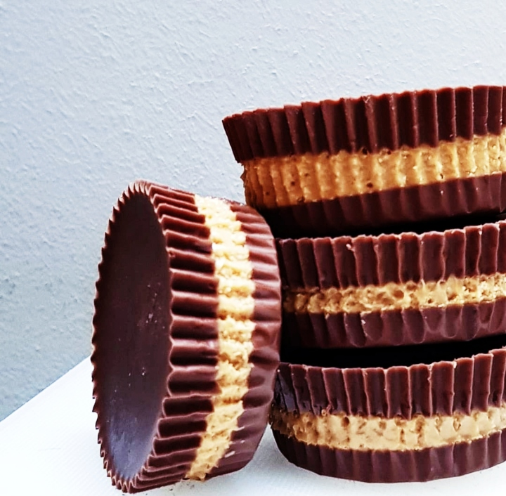 At Home Frozen Peanut Butter Cups